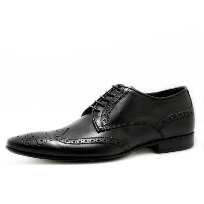 Art. 5044, Bassa in Vitello di colore Nero e fodera in Vitello #Mauron1959 #Italy #shoe #man #style #fashion #luxury