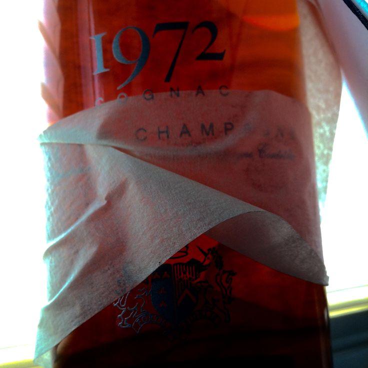 #GoldSmilesBySilver #Baron Otard Cognac #40YO #1972 vintage ...[Y]ou're such a huge asset - blood of yours is worth bottling...