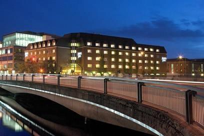 My hotel in Cork, Ireland. Jurys Inn Cork by Night