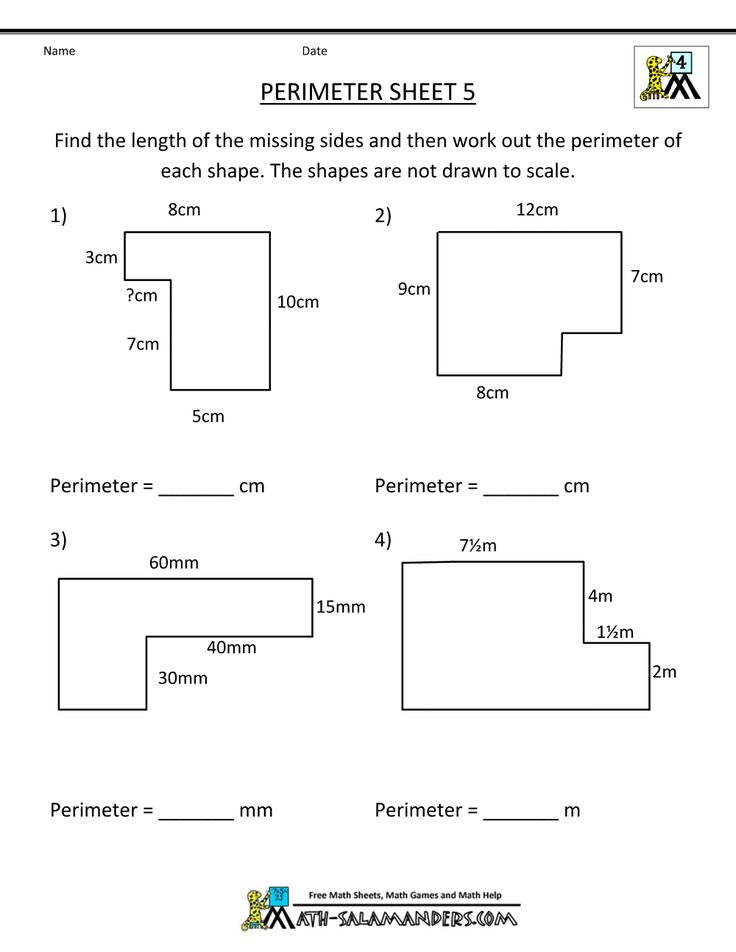 area and perimeter year 6 pdf