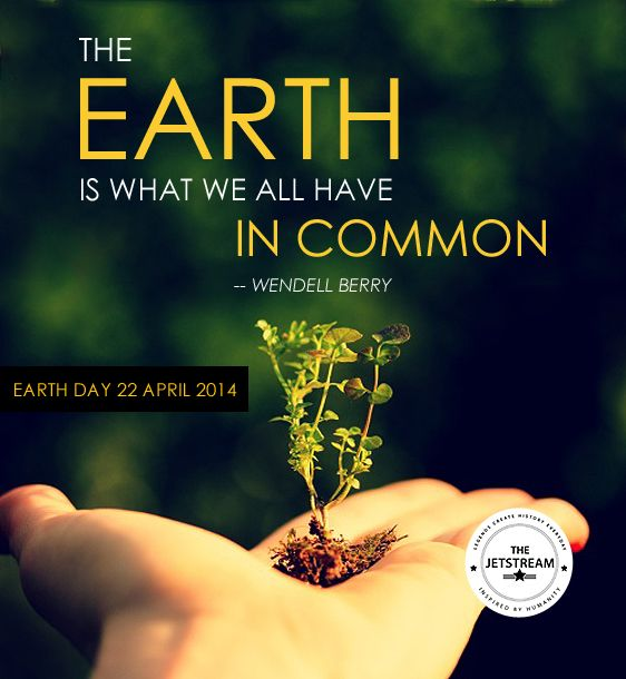 Earth Day 2014 | Julian Pencilliah Inspire