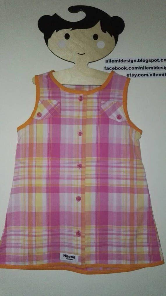 Sally Sunshine-dress 3 year 4 year EU 104cm recycled