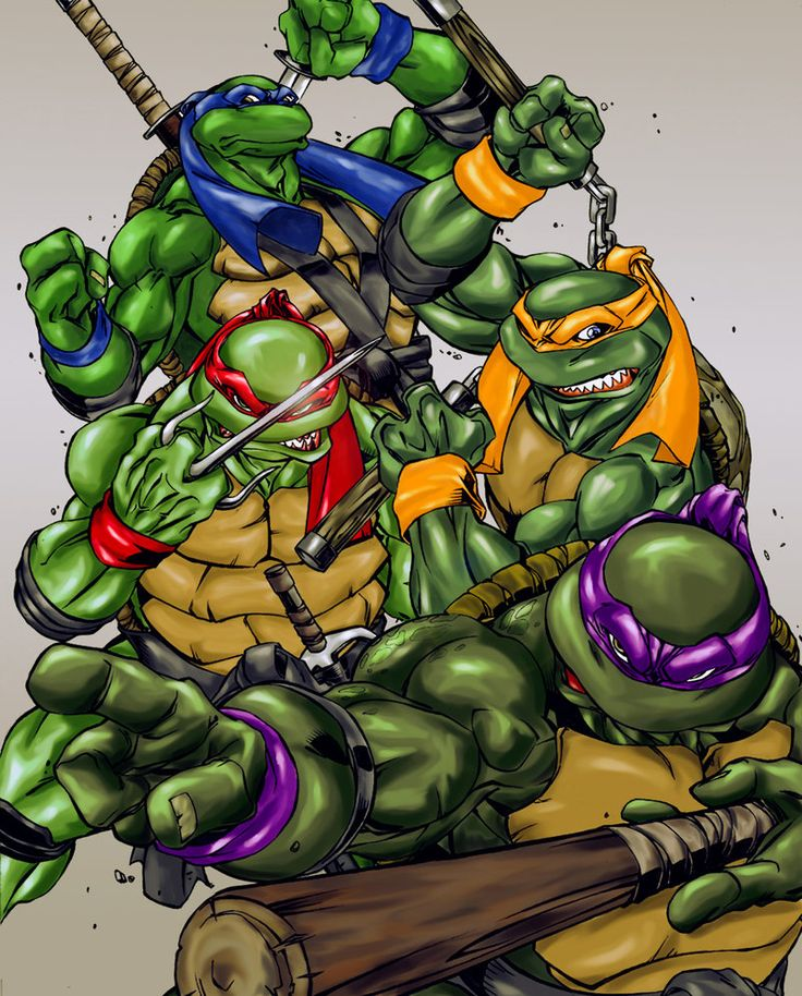 Ninja Turtles Wallpaper: 17 Best Images About Teenage Mutant Ninja Turtles On
