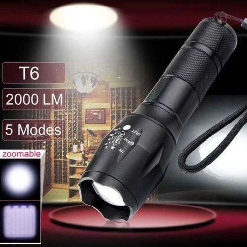 Cree-XM-L-T6-LED-2000-lumen-X800-Tactical-torcia-LED-Lumen-militare-Alonefire