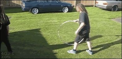 Excellent hula hoop jump., BAThumor has been updated with the best funny pictures on the web for over 5 years.