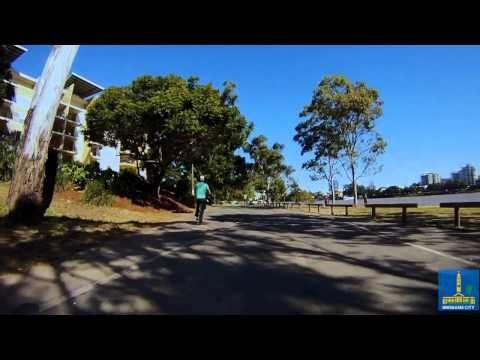 Riverside Drive, West End   Cycling Brisbane