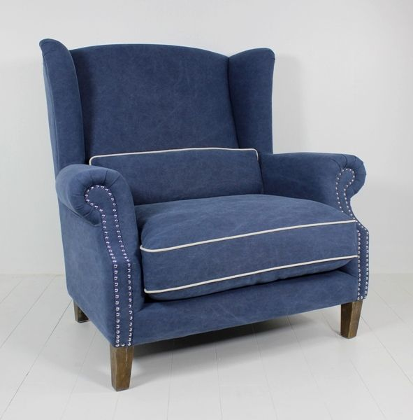 Celeste II Love chair Navy at Villa Maison