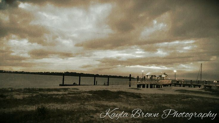 Beautiful Dust edit, sunset beach front     Kayla Brown Photography