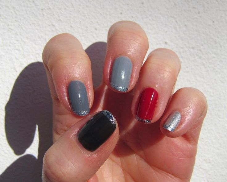 Sannes nails 2015. Trying all six of OPI's Fifty Shades mini collection.