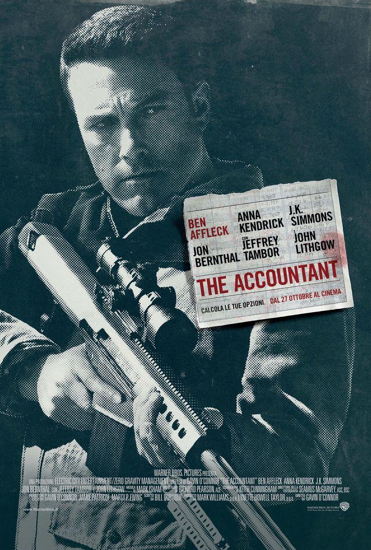The Accountant poster italiano HD
