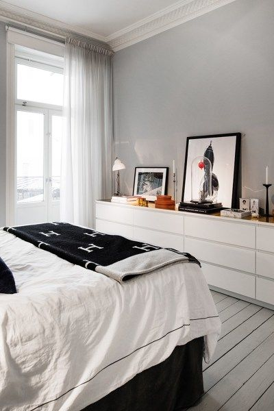 Cómoda malm dormitorio