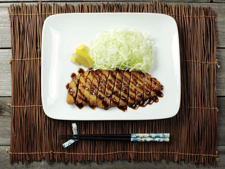 Crispy, golden-brown, and juicy breaded and fried pork or chicken cutlets, Japanese-style.