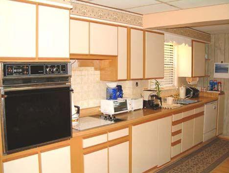 White Melamine Kitchen Cabinets