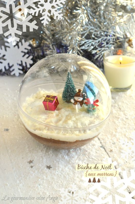 bûche de noël aux marrons | christmas http://www.la-gourmandise-selon-angie.com/archives/2013/12/17/28630841.html