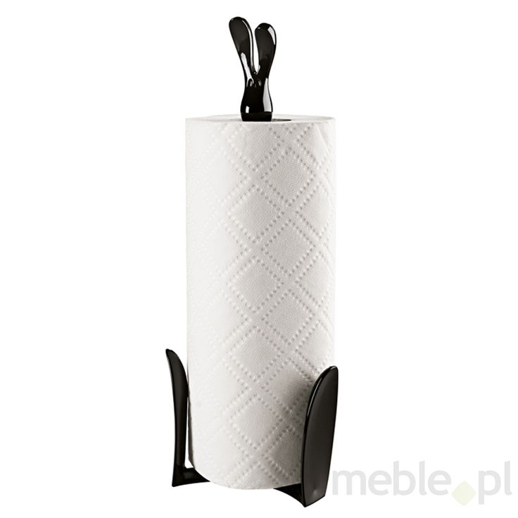 Stojak na ręczniki papierowe czarny Roger KS-5226526