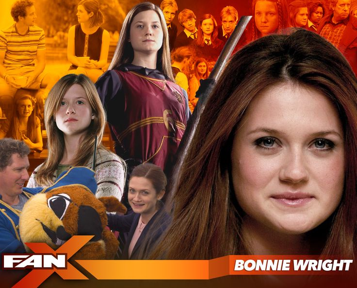 Meet actress & director Bonnie Wright at #FANX17! Ginny Weasley in the Harry Potter film series! #utah