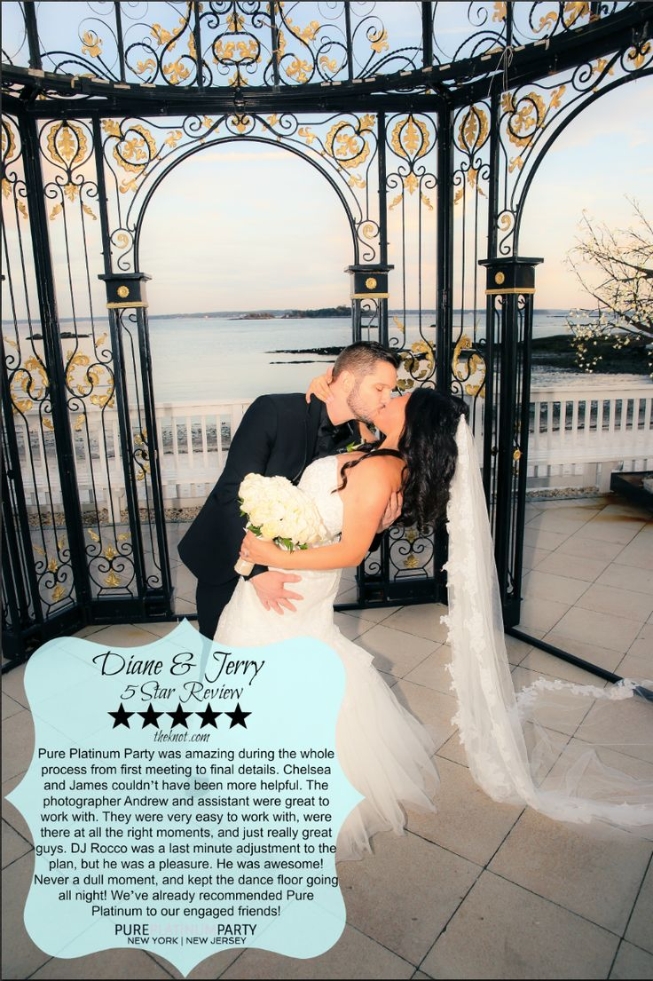 Pure Platinum Party provided our Award-Winning Wedding Entertainment, Photography, and Videography services for Diane and Jerry's fairy tale wedding at The Surf Club On The Sound in New Rochelle, NY. Thank you Diane and Jerry for the 5 star review! #pureplatinumparty #theknot #wedding #weddinginspiration