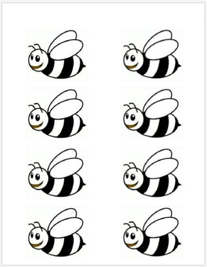 bee coloring pages for preschool - photo#38