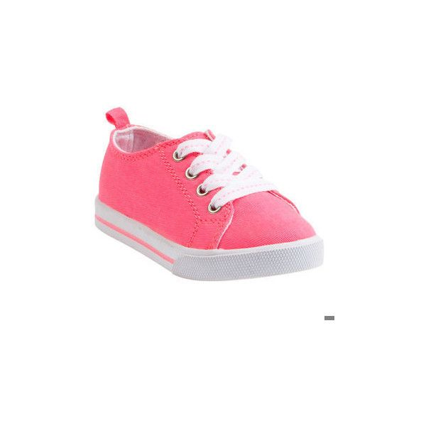 Neon Sneakers | Toddler Girl Shoes & Slippers (260 SEK) ❤ liked on Polyvore featuring baby, baby clothes, baby girl, baby shoes and kids