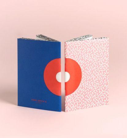 Super! Donut A6 Notebooks (set of 2)