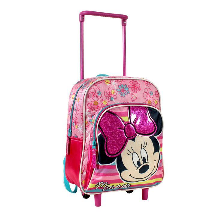 Troler ghiozdan gradinita Disney cu Minnie Mouse