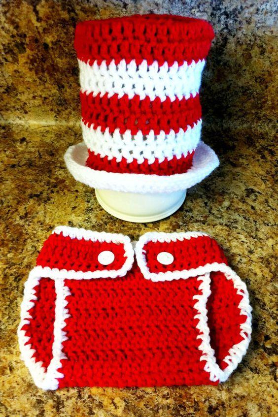 Cute as Pie Designs Cat in the Hat Crochet Pattern