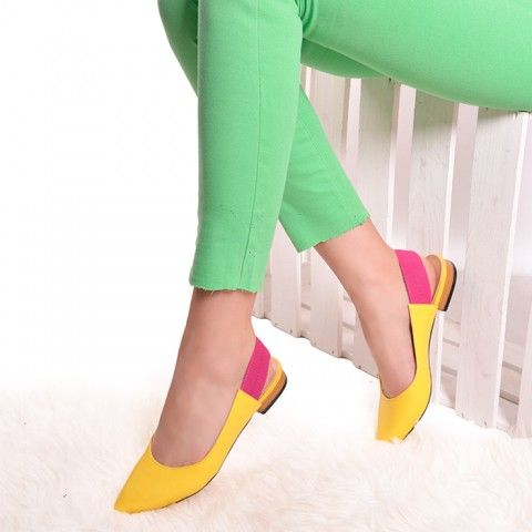 GOTTARUN YELLOW | Red Pumps