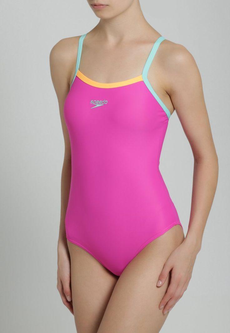 Bañador  de mujer color violeta rojizo de Speedo  #bañador #swimsuit #monokini #maillot #onepiece #bathingsuit