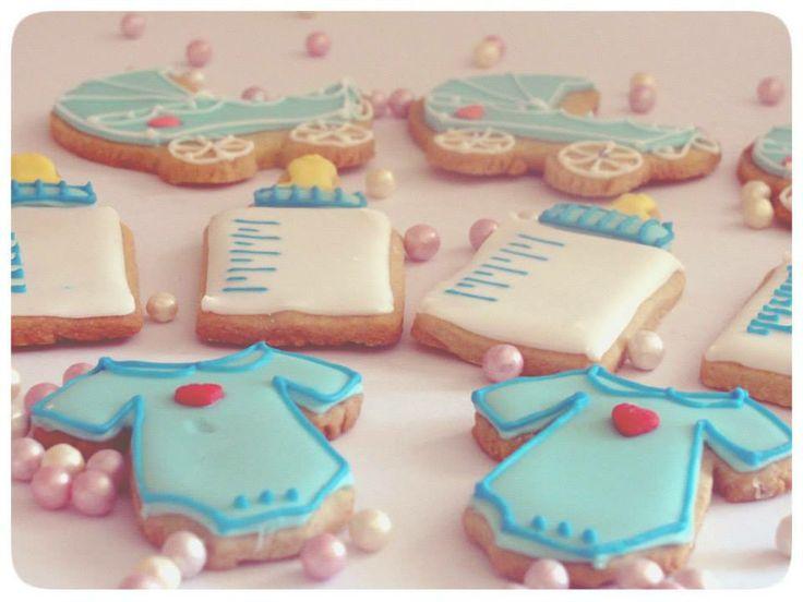 Baby Shower Icing Cookies