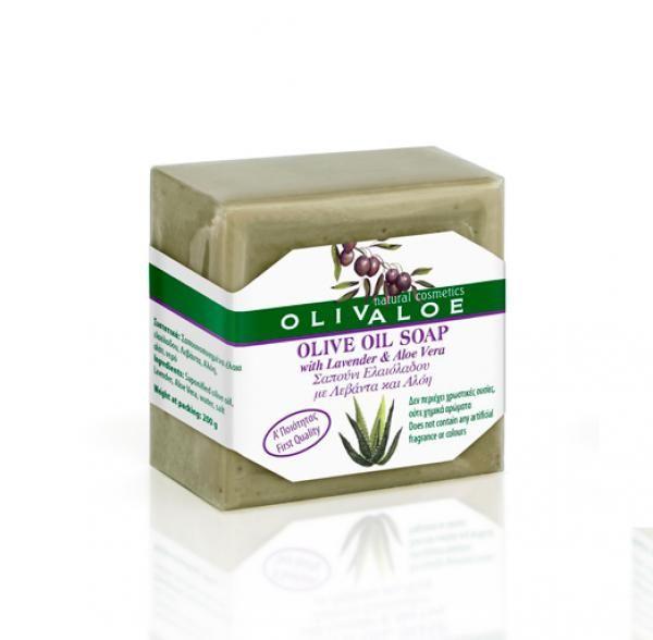 Olívás szappan aloe verával és levendulával 200gr