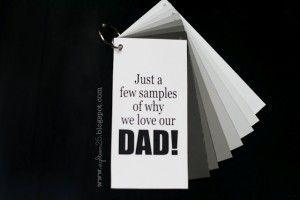 free father's day bingo cards