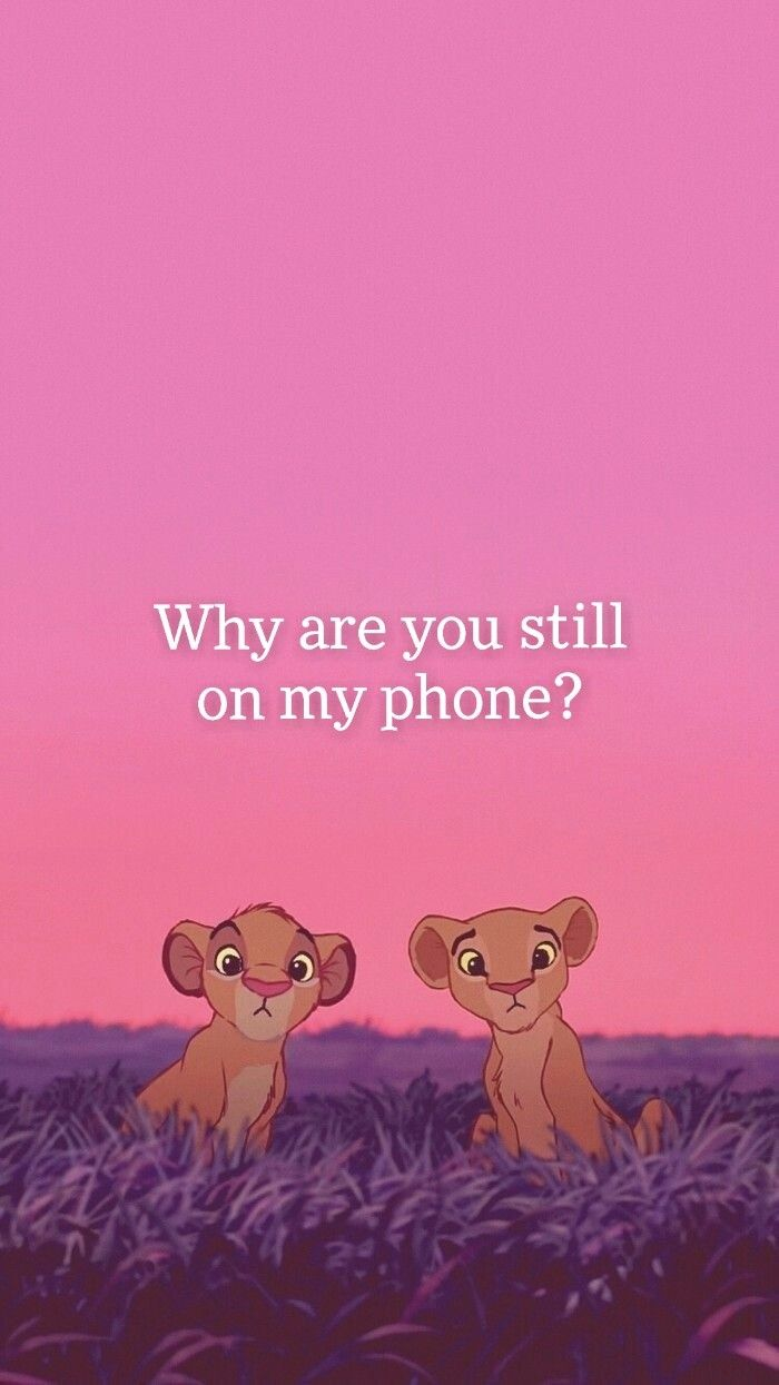 Pin By Marzbarzh On Phone Dont Touch My Phone Wallpapers Pink Wallpaper Cartoon Cartoon Wallpaper Iphone
