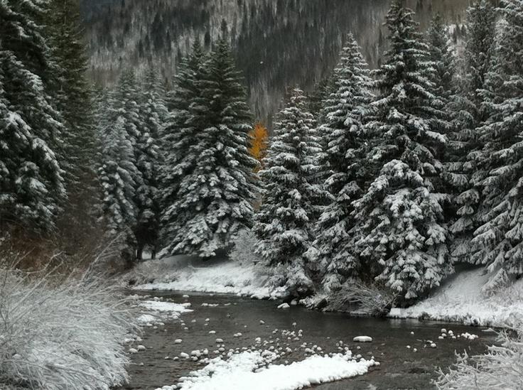 Vail, Colorado in the winter