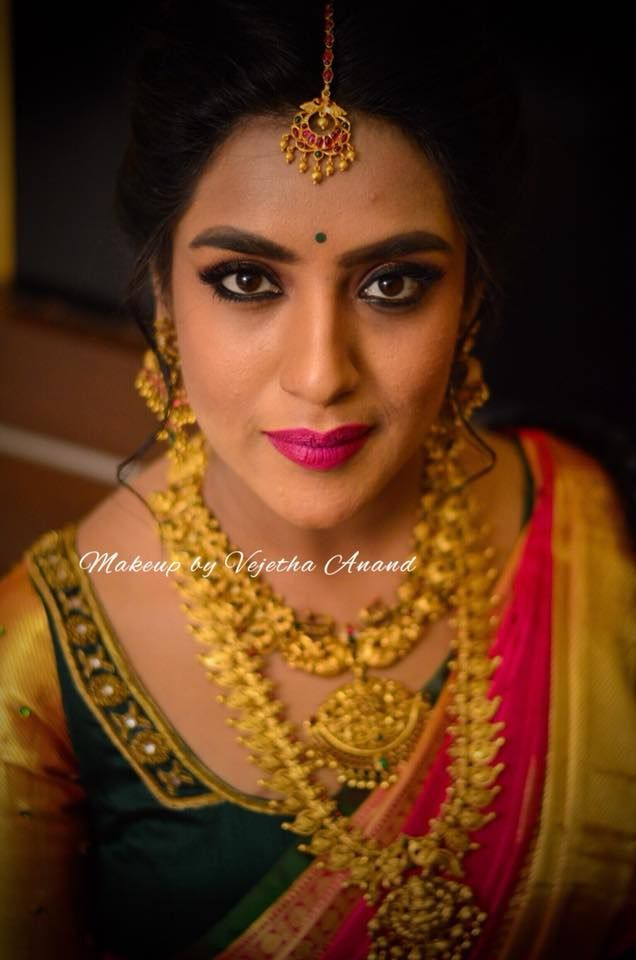 Bhavana Looks Gorgeous For Her Sisters Wedding Ceremony Hair And