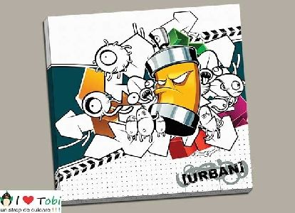 Tablou modern arta urbana - cod T07
