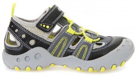 Geox Kyle Grey Sandals