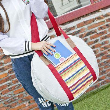 Women Oxford Cloth Waterproof National Style Hangbag Luggage Travel Bag - US$29.99