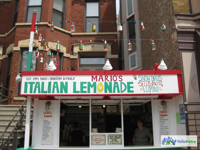 Little Italy Chicago Windy City Chicago Pinterest