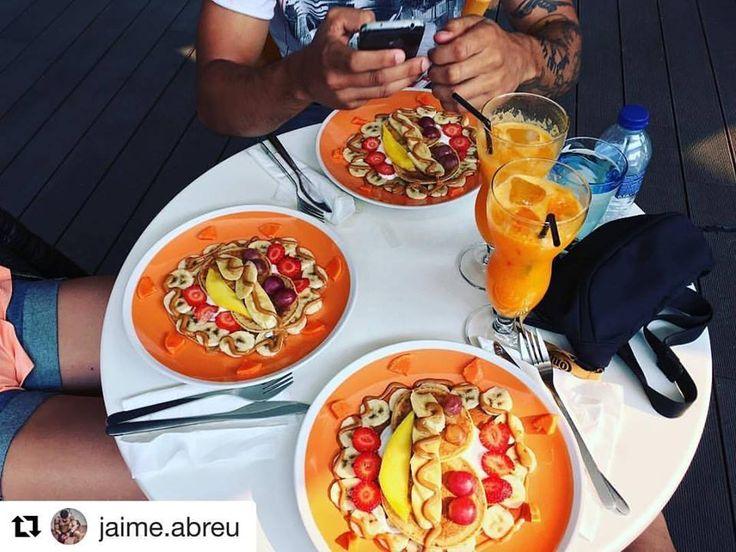 #Repost @jaime.abreu with @repostapp ・・・ Mais um pre-treino top 💪💪 Next stop: #purolusitano® box para um treino matinal !! #healthybreakfast #healthyfood #healthyliving #pancakes #crossfit #goals #gains #breakfast #results #relationshipgoals #training #train #trainhard #bemorehuman #healthy #health #friends #friendship