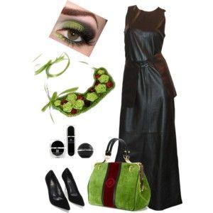Black & Amber & Green