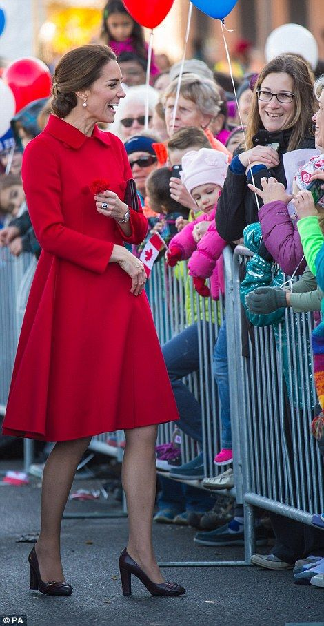 Catherine, Duchess of Cambridge visits the town during the Royal Tour of Canada on September 28, 2016 in Whitehorse, Canada.