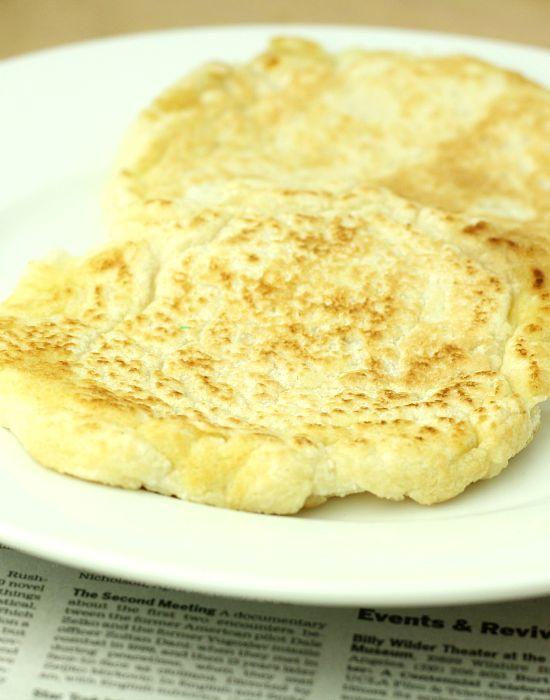 Coconut Flour Flatbread (Low Carb/Paleo/Vegan/Low Calorie