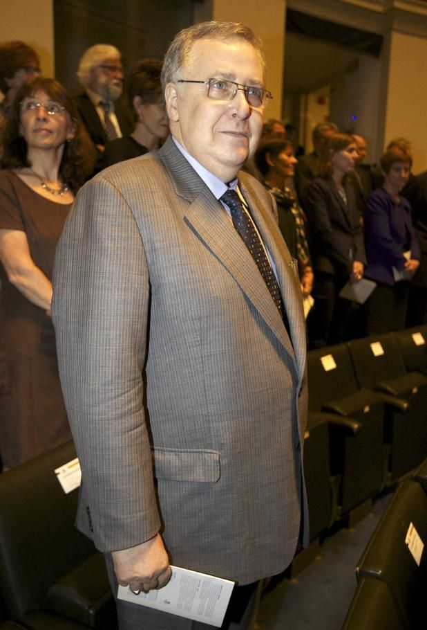 Luc Van Den Bossche, gewezen CEO van de failliete Optima Bank.