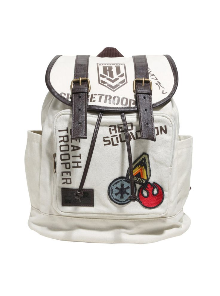 Loungefly x Rogue One slouch backpack available at Hot Topic