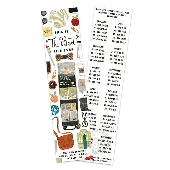 Best Life Ever 2017 Year Text Bookmark Bible by SeasonedWSalt