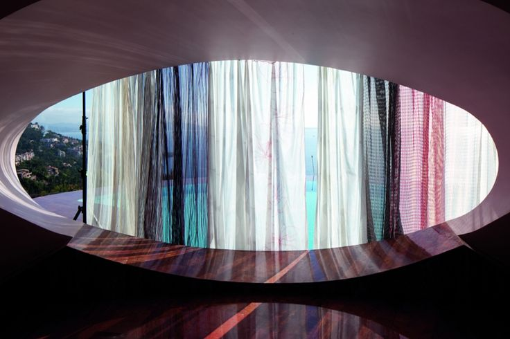 Atelier Pfister Collection 2012, curtains by Annette Douglas
