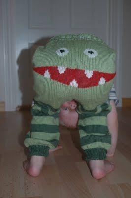 duBedåre: Monsterbukser - oppskrift!