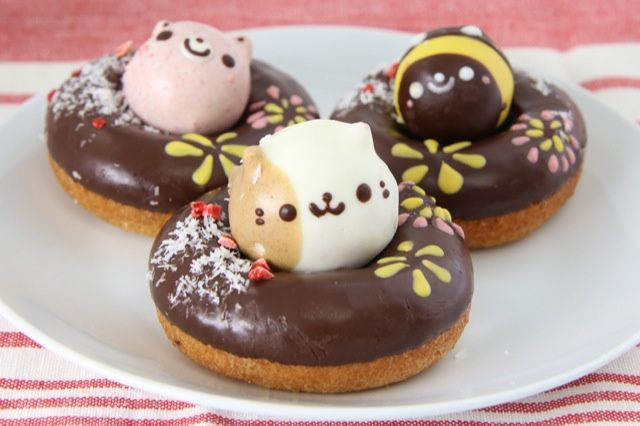 Cute Japanese donuts!