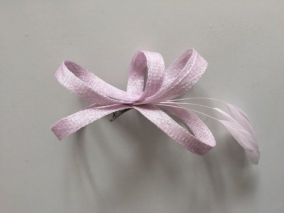 Bridesmaids fascinator in lila by BeChicAccessories on Etsy