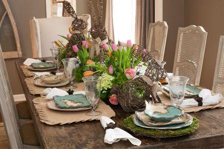 Easter Tablescape from Bella Vita